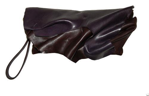 Plum brown folds