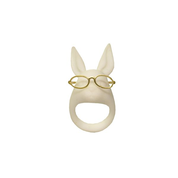 Crystal Cocktail Bunny Ring