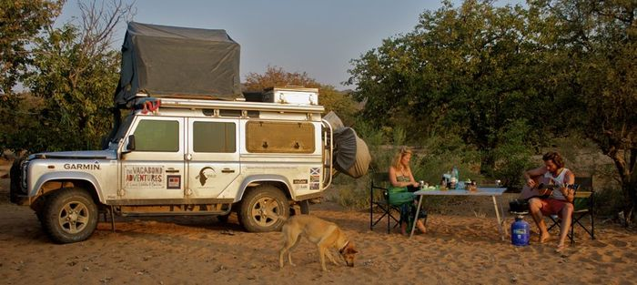 The-Vagabond-Adventures-Bush-Camping-Dry-River-Bed-Namibia