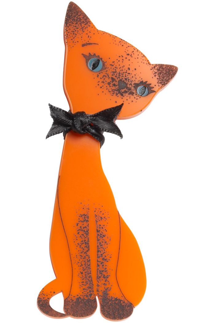 SIAMESE_CAT_BROOCH_ORANGE_L