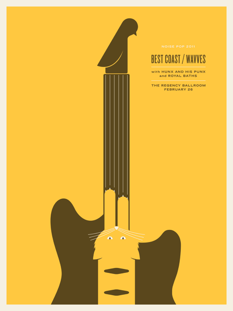 JasonMunn_BestCoast_Wavves_Poster