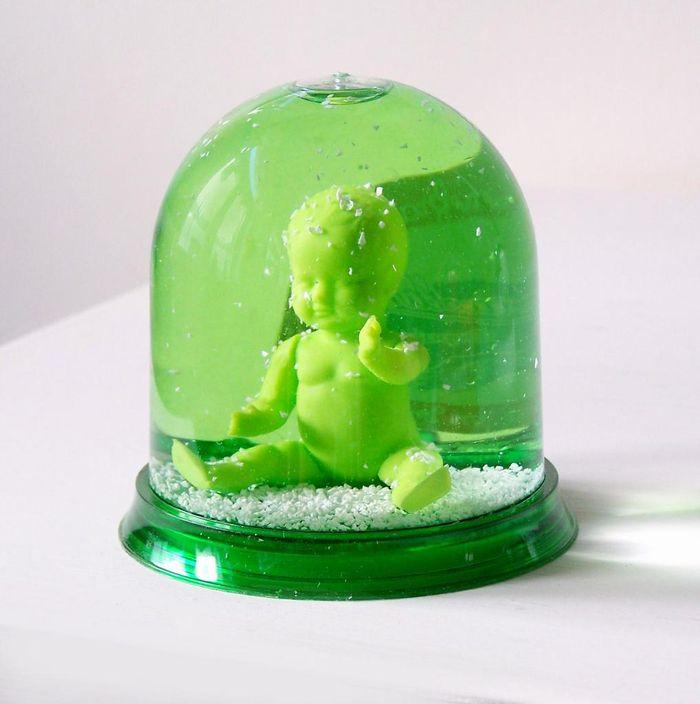 Snöglob beb grön_big