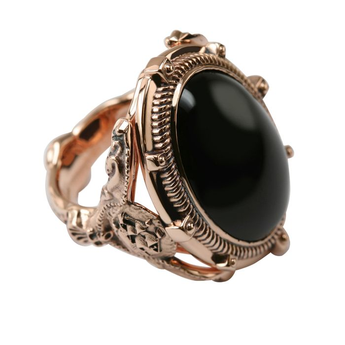 Stephen Einhorn Bespoke Ring Made For Tim Burton's Dark Shadows Worn By Johnny Depp (photo3)