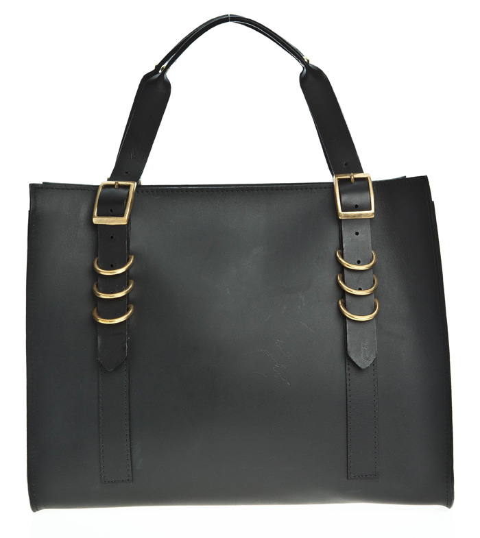 Danielle Foster Fin Bag black leather £440 at BENGTfashion.com