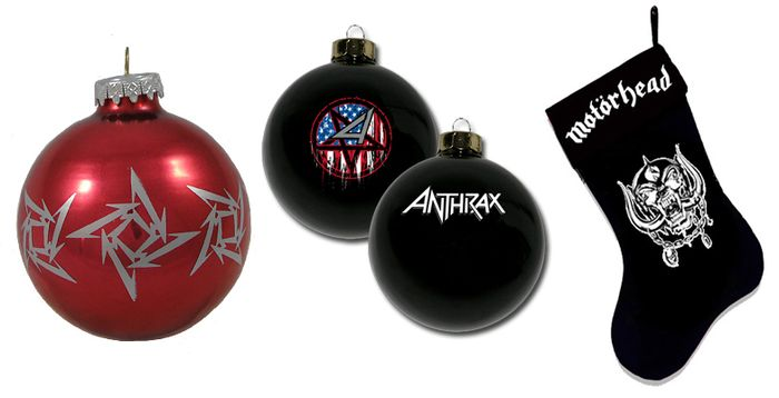 Metal baubles
