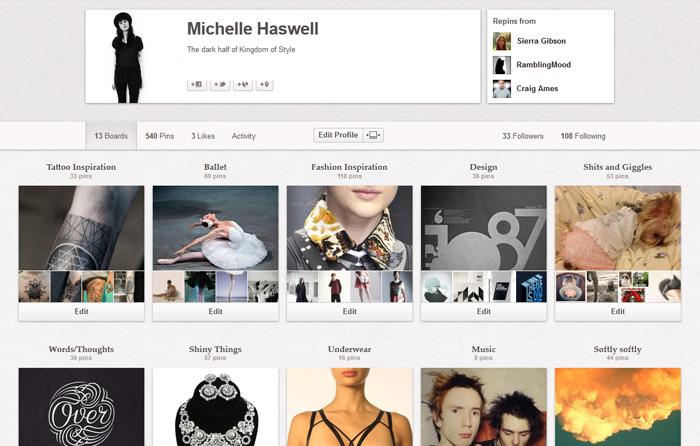 Michelle Pinterest