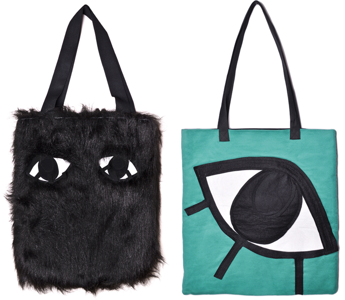 Joanna-Pybus_Furry-Tote-Bag-Front_Bengt-Fashion