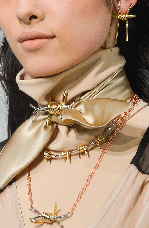 Rodarte-fall-2013-barb-wire-earrings-necklace