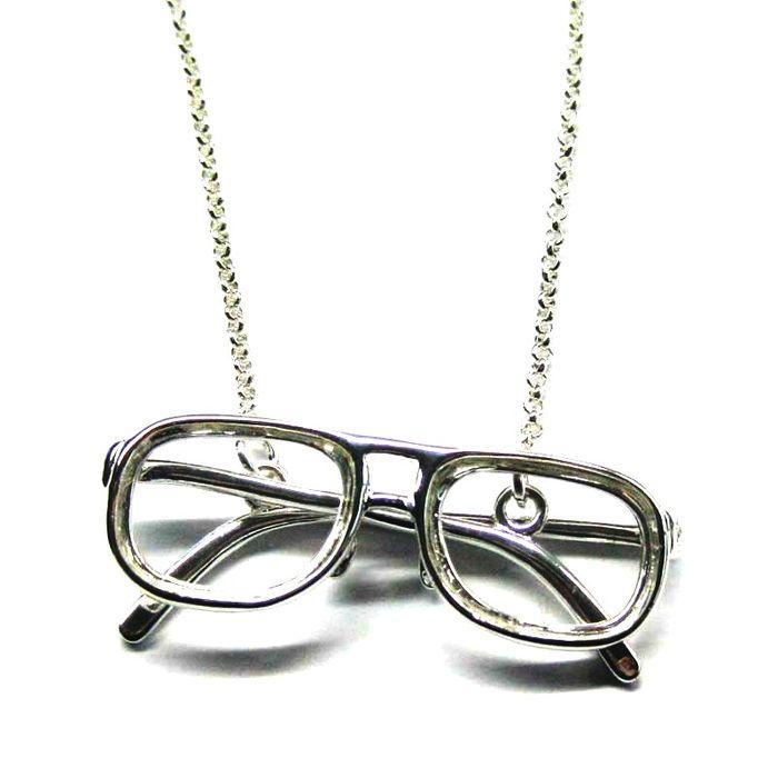 Glasses silver 02