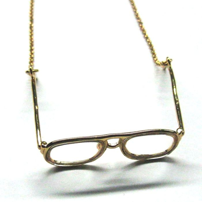 Glasses gold 02