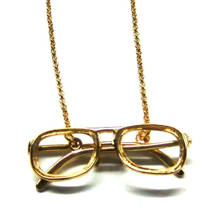 Glasses gold 01
