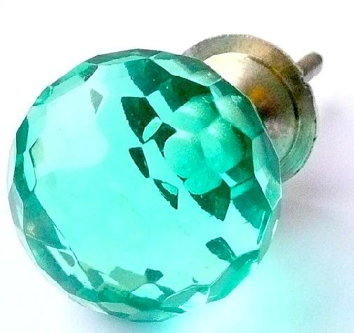 Green Clear Knob