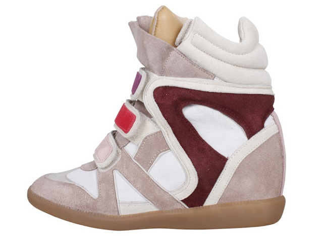 IsabelMarant Willow Bekett High Top Sneakers 3