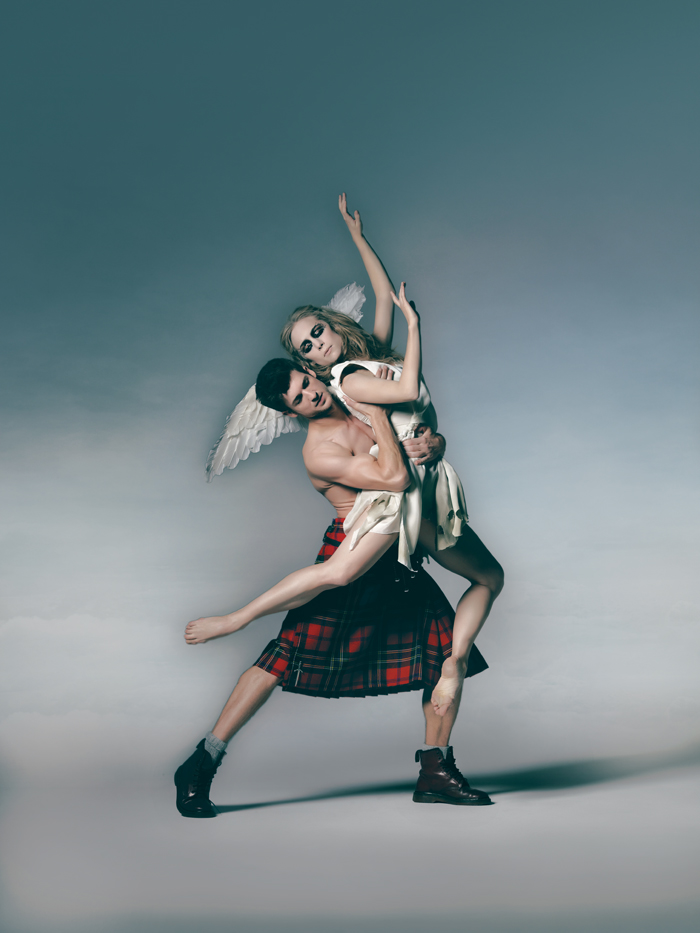 Highland Fling - Sylph and James