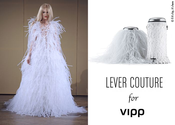 Lever couture and vipp bin white IIHIH