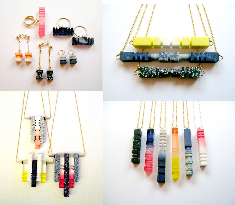 Pop up jewellery