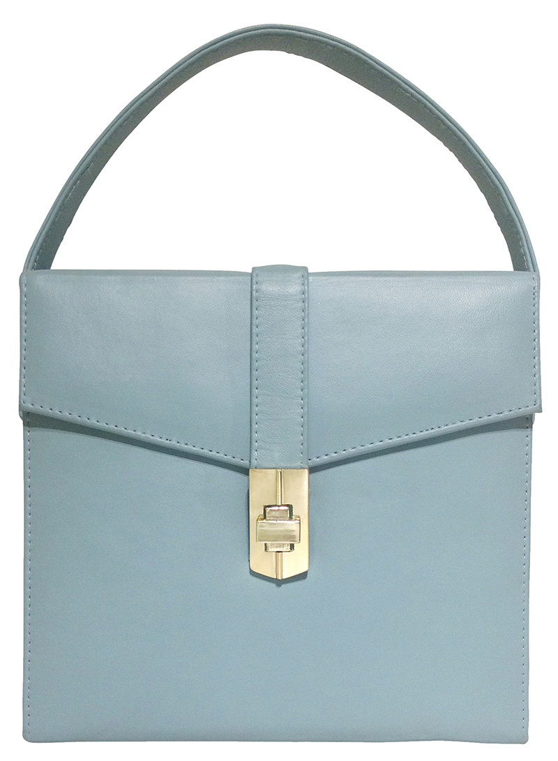 Starlet satchel-pale blue