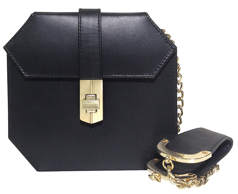 Mini starlet Atomic satchel-black