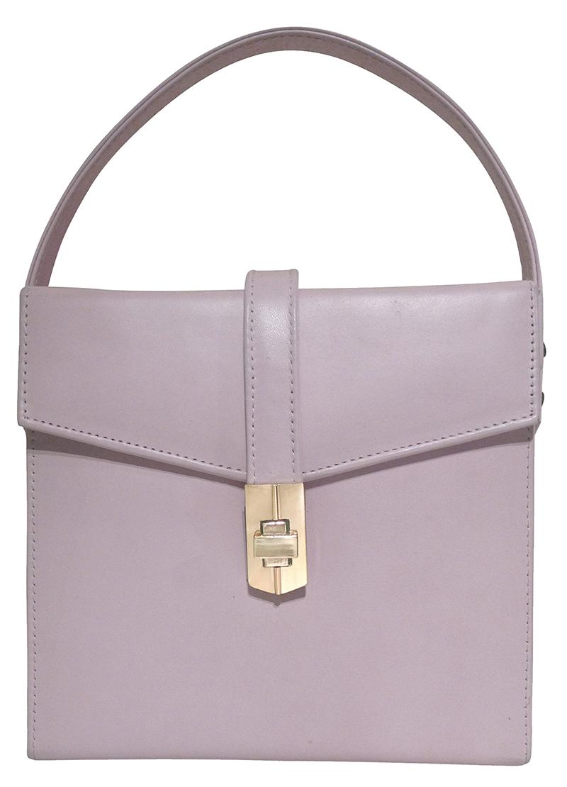 Starlet satchel-pale pink