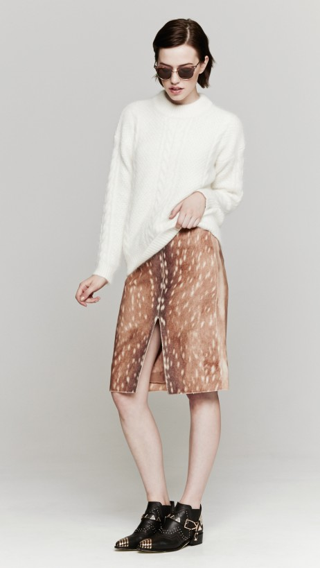 Carven_printed_woolen_skirt_fawn_38_1