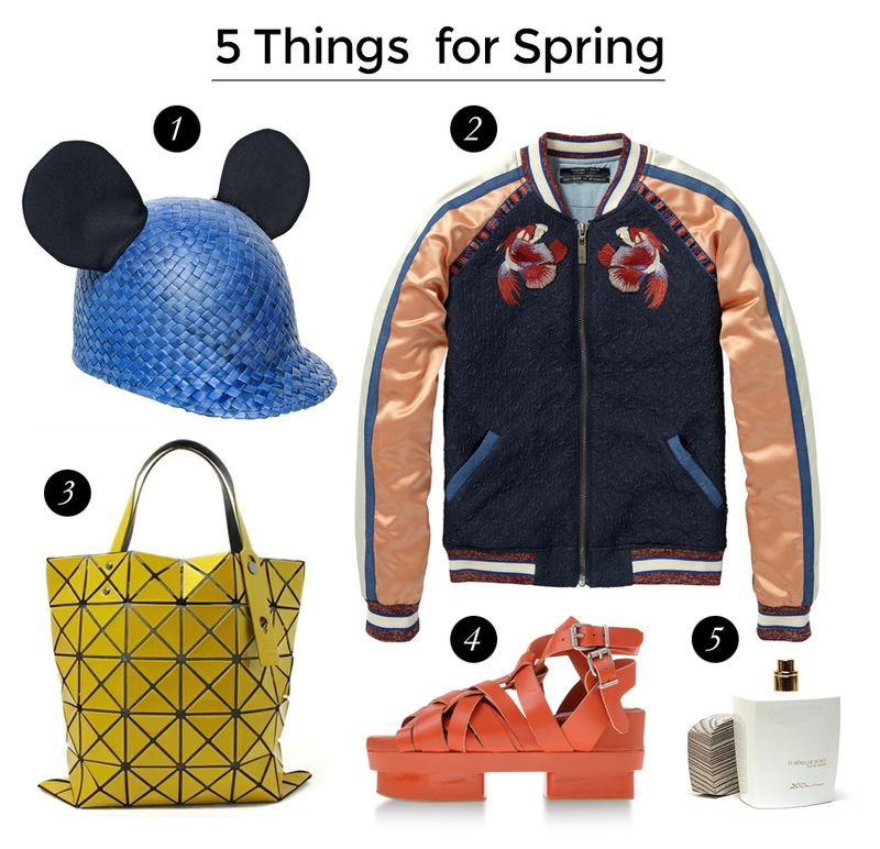 5 things for spring