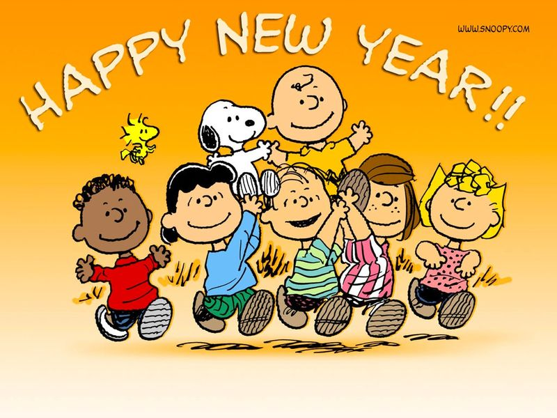 Snoopy-new-year-wallpaper
