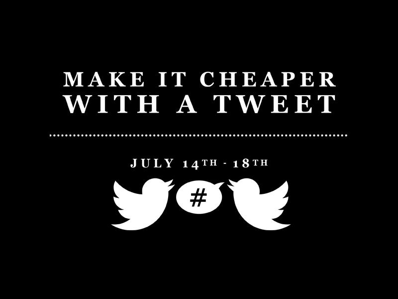 Miista Cheaper With a Tweet 1