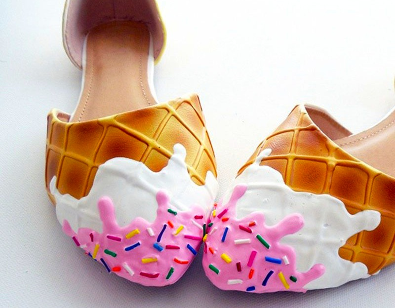 Ice-cream-flats-with-sprinkles