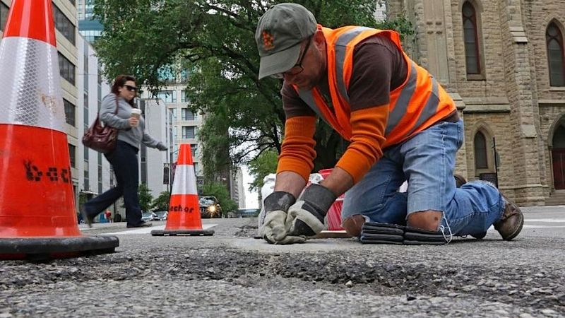 Mosaic Potholes -1