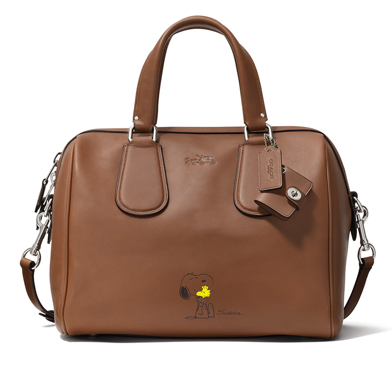 33694 Snoopy Surrey Satchel SADDLE --ú425.00