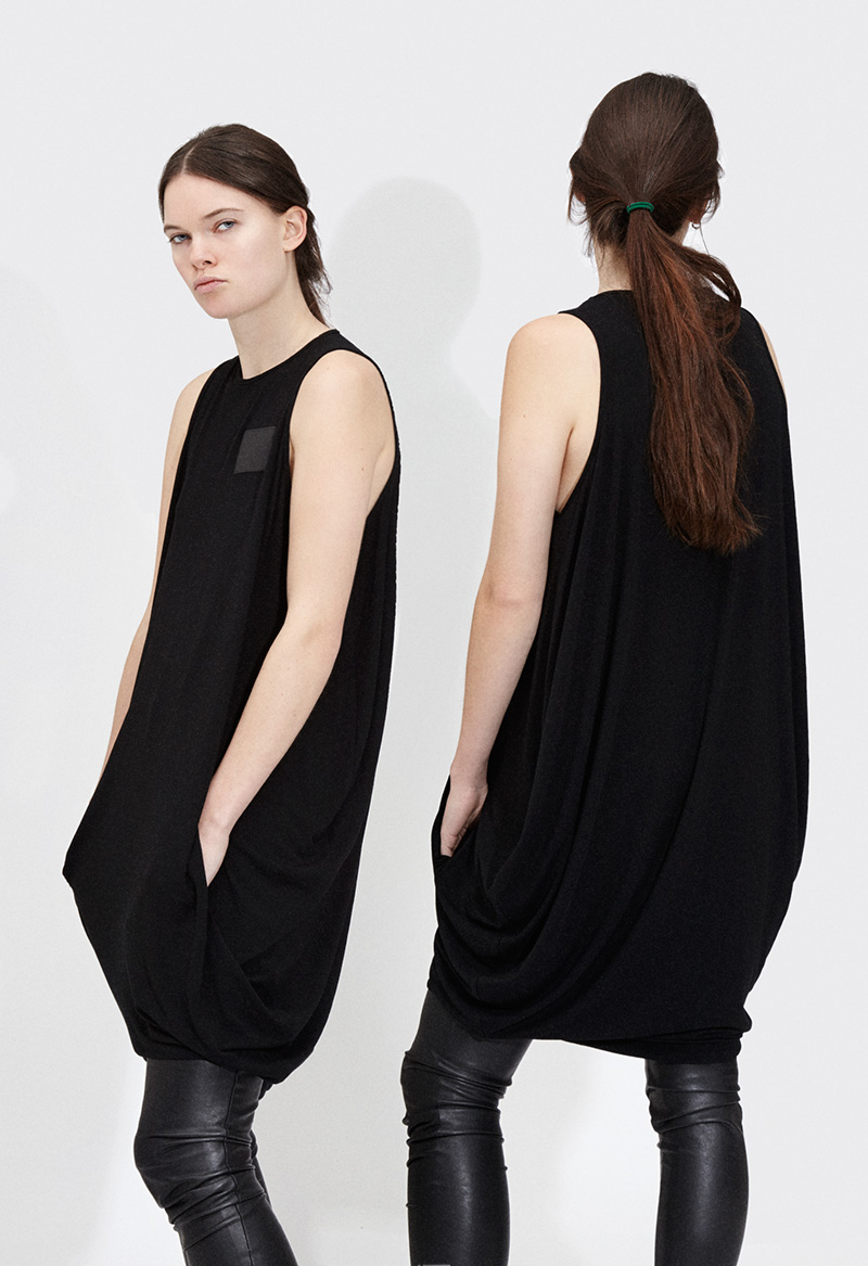 Passarella AW15 - Womens - Parachute dress - Black