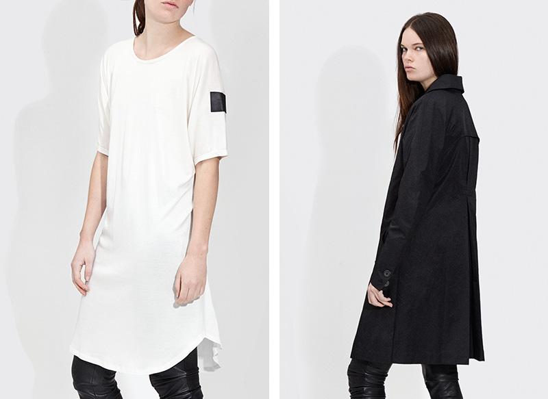 Passarella AW15 - Womens - Shadow dress - White