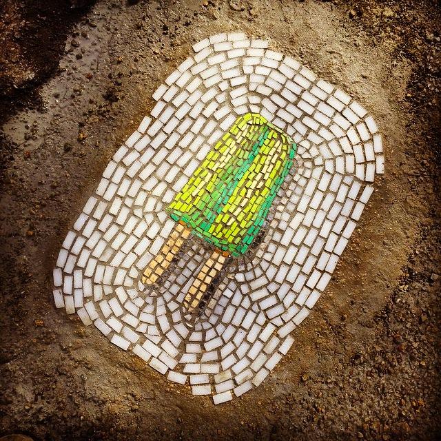 Street-mosaic-pothole-ice-cream-jim-bachor-2