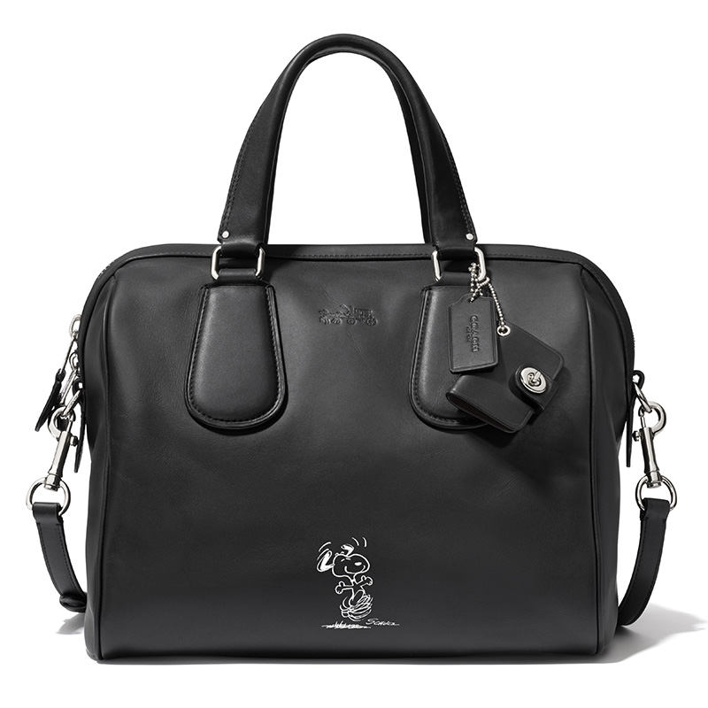 33694 Snoopy Surrey Satchel BLACK --ú425.00