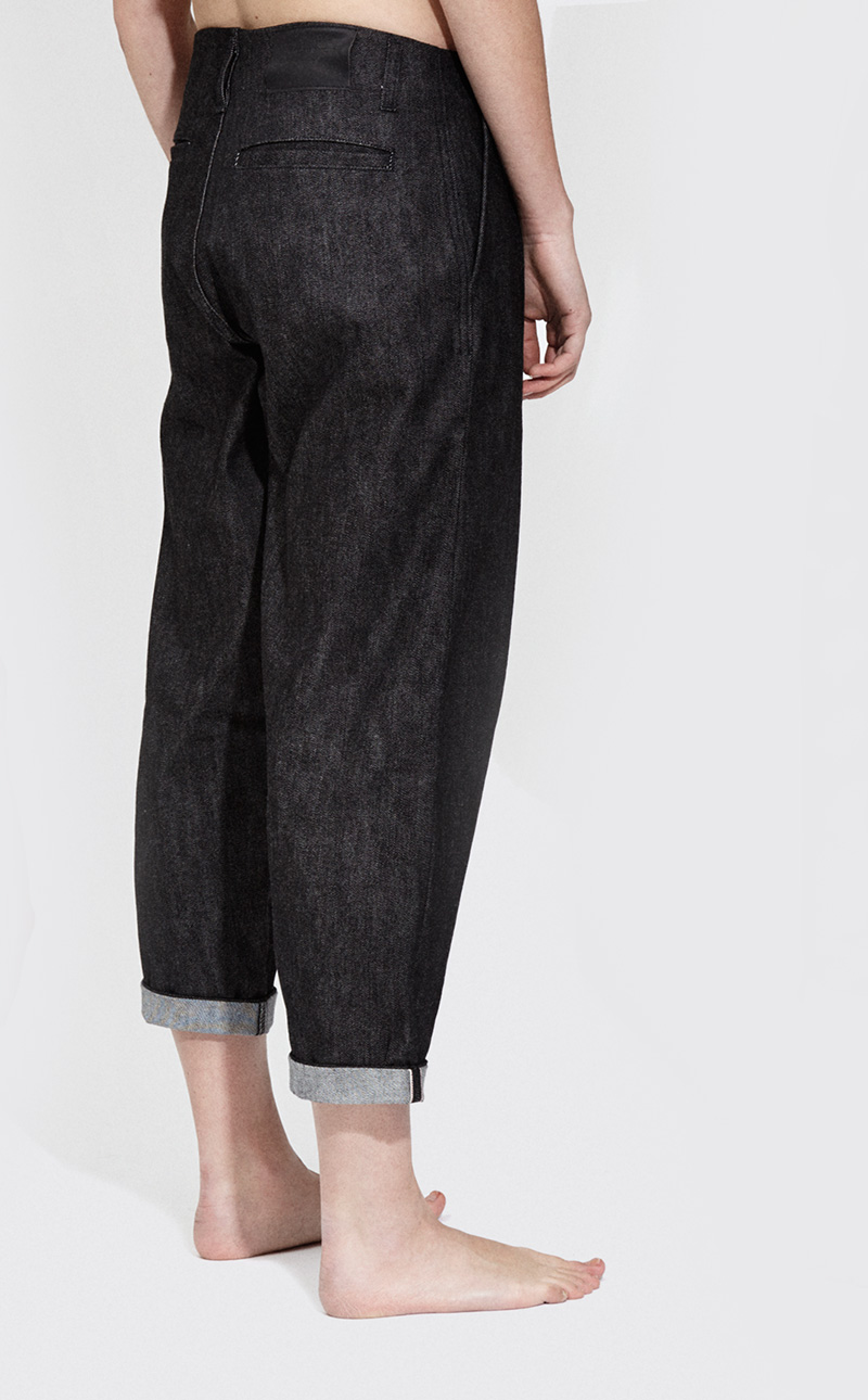 Passarella AW15 - Womens - Black denim - 2