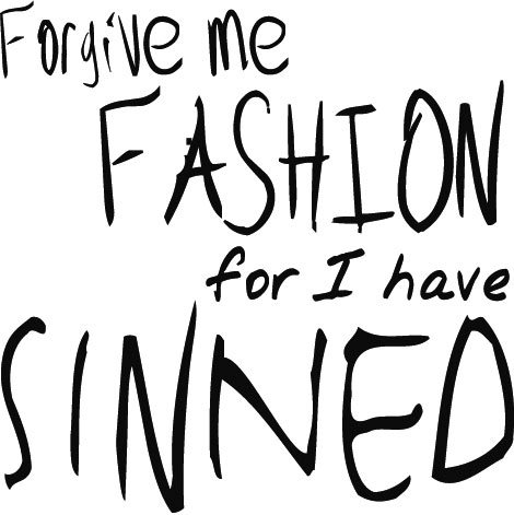 Forgivemefashion