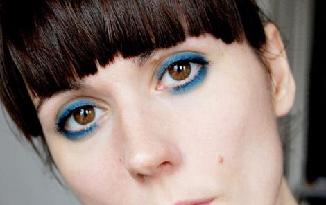 Blue Eyeshadow For Brown Eyes. lue eyeshadow is nothing.
