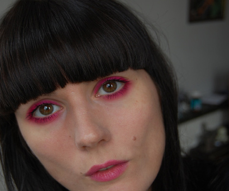 about having pink eye.